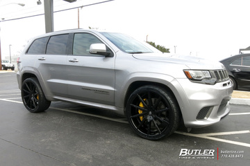 Jeep Grand Cherokee Trackhawk with 24in Lexani CSS15 Wheels