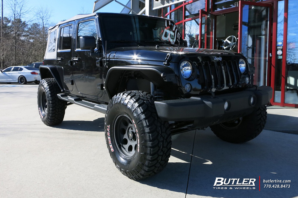 Jeep Wrangler with 17in Pro Comp 1069 Wheels exclusively from Butler Tires and Wheels in Atlanta ...
