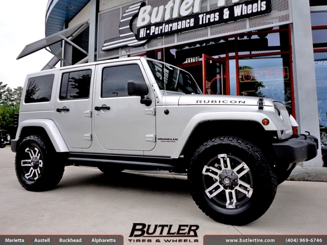 Jeep Wrangler With 18in Fuel Gauge Wheels Exclusively From Butler Tires And Wheels In Atlanta