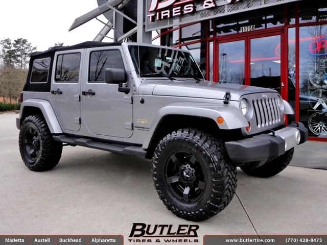 Jeep Wrangler With 18in Xd Rockstar Ii Wheels Exclusively