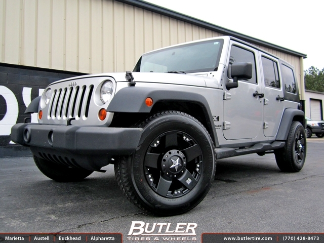 Jeep Wrangler Rims And Tire Packages >> Jeep Wrangler with 18in XD Rockstar Wheels exclusively ...