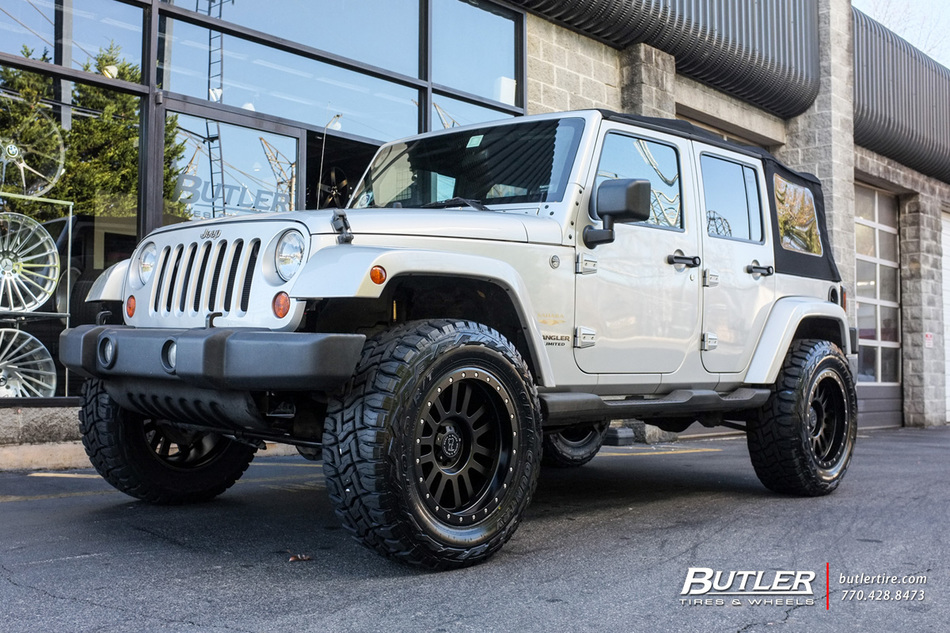 Jeep Wrangler Rims And Tire Packages >> Jeep Wrangler with 20in Black Rhino El Cajon Wheels ...