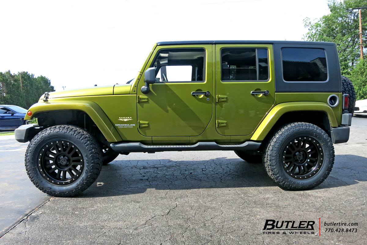 El Cajon Ford >> Jeep Wrangler with 20in Black Rhino El Cajon Wheels exclusively from Butler Tires and Wheels in ...
