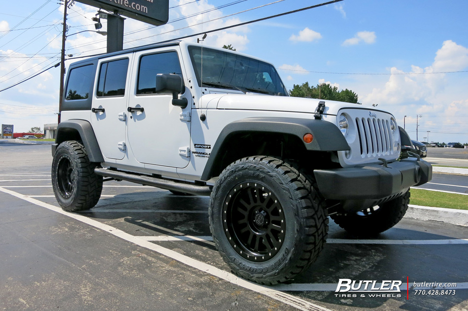 Mercedes El Cajon >> Jeep Wrangler with 20in Black Rhino El Cajon Wheels exclusively from Butler Tires and Wheels in ...