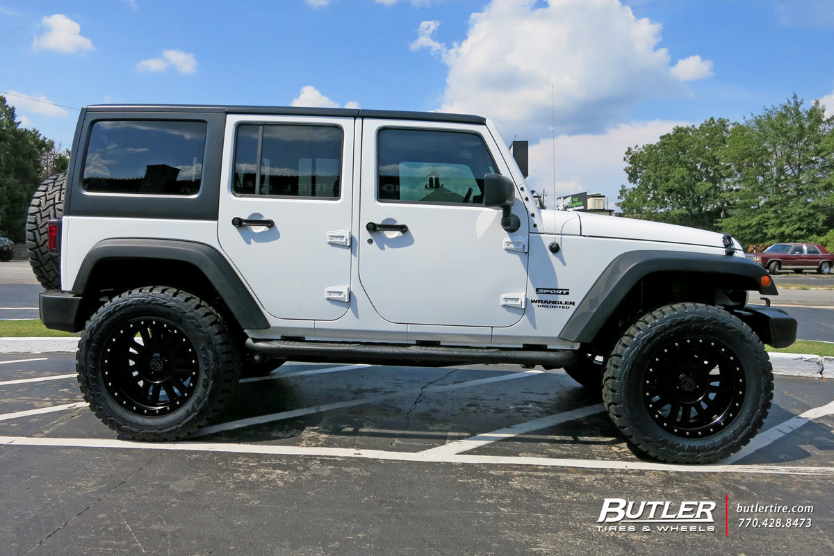 El Cajon Bmw >> Jeep Wrangler with 20in Black Rhino El Cajon Wheels exclusively from Butler Tires and Wheels in ...