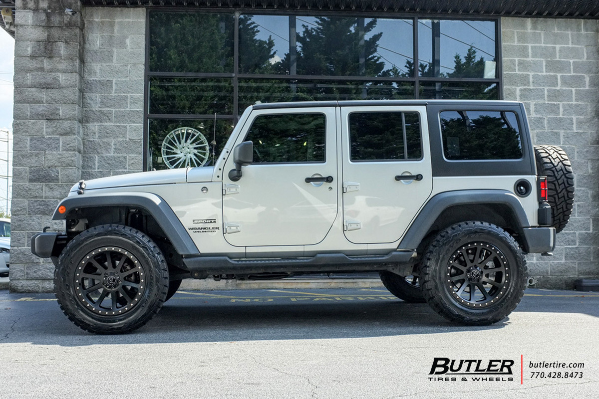 Jeep Grand Cherokee Lifted >> Jeep Wrangler with 20in Black Rhino Mint Wheels exclusively from Butler Tires and Wheels in ...
