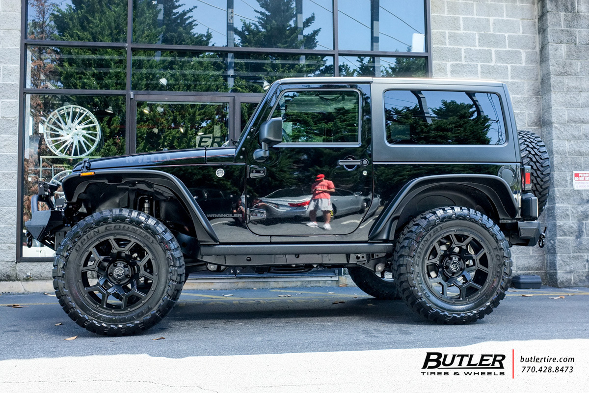 Fox Ford Lincoln >> Jeep Wrangler with 20in Black Rhino Overland Wheels exclusively from Butler Tires and Wheels in ...