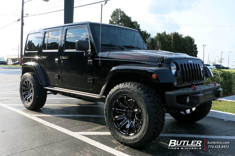 Jeep Wrangler Rims And Tire Packages >> Jeep Wrangler with 20in Black Rhino Selkirk Wheels ...