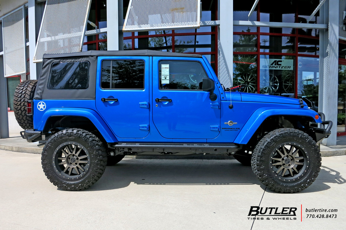 Jeep Wrangler Rims And Tire Packages >> Jeep Wrangler with 20in Black Rhino Tanay Wheels ...