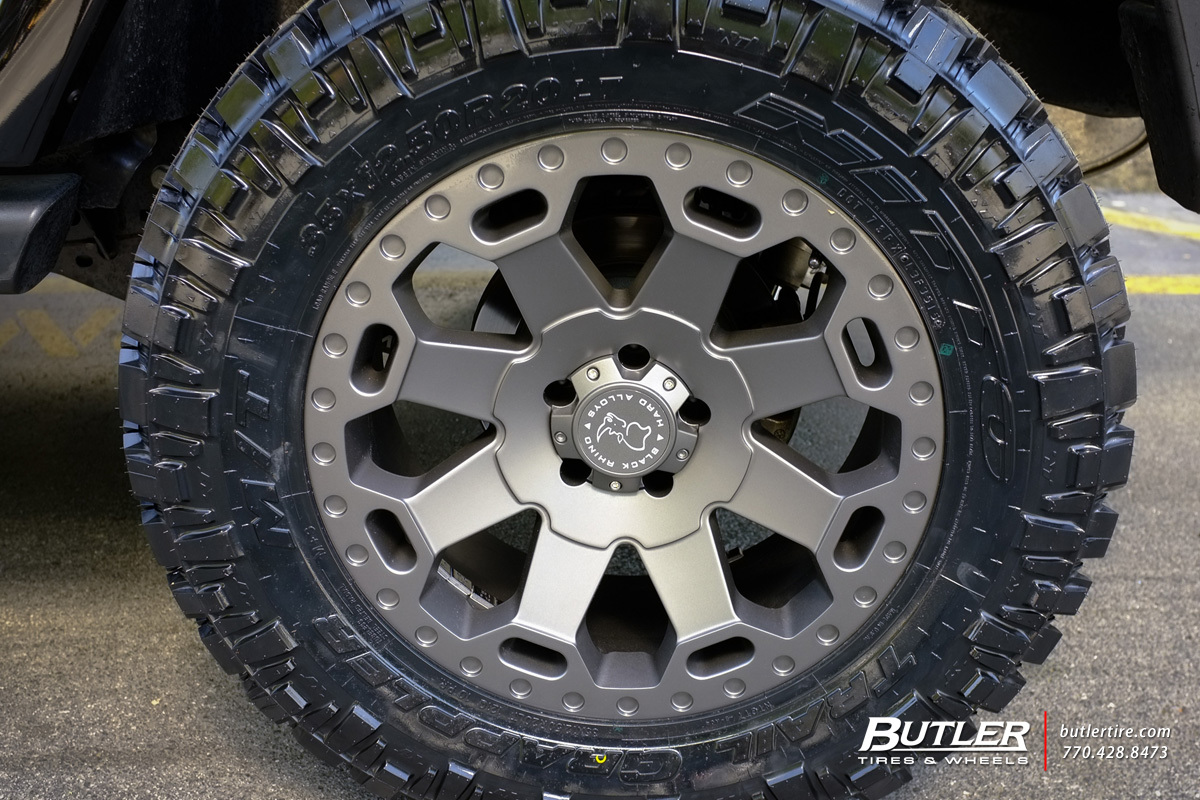 Jeep Wrangler Suspension Kit >> Jeep Wrangler with 20in Black Rhino Warlord Wheels exclusively from Butler Tires and Wheels in ...