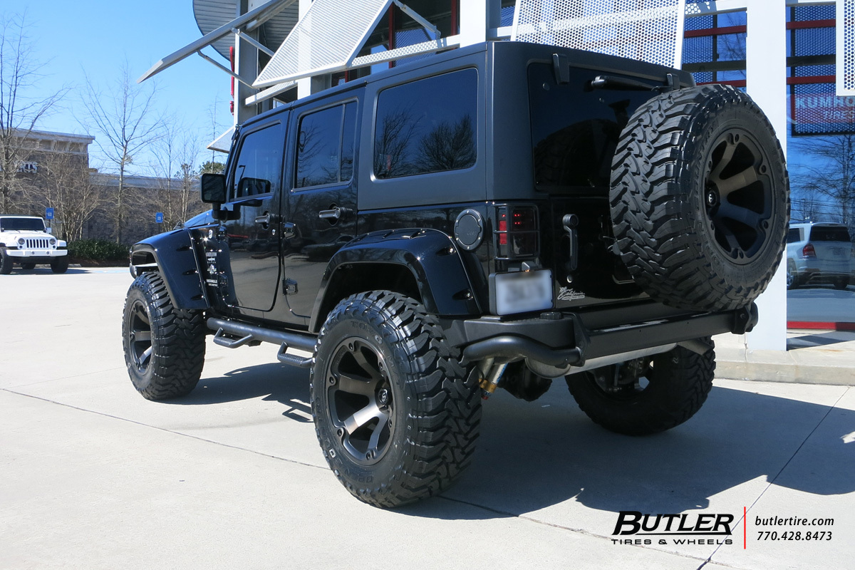 Jeep Wrangler With 20in Fuel Beast Wheels Exclusively From Butler