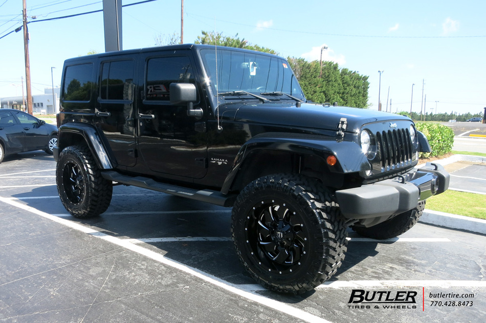 Jeep Wrangler with 20in Fuel Cleaver Wheels exclusively ...