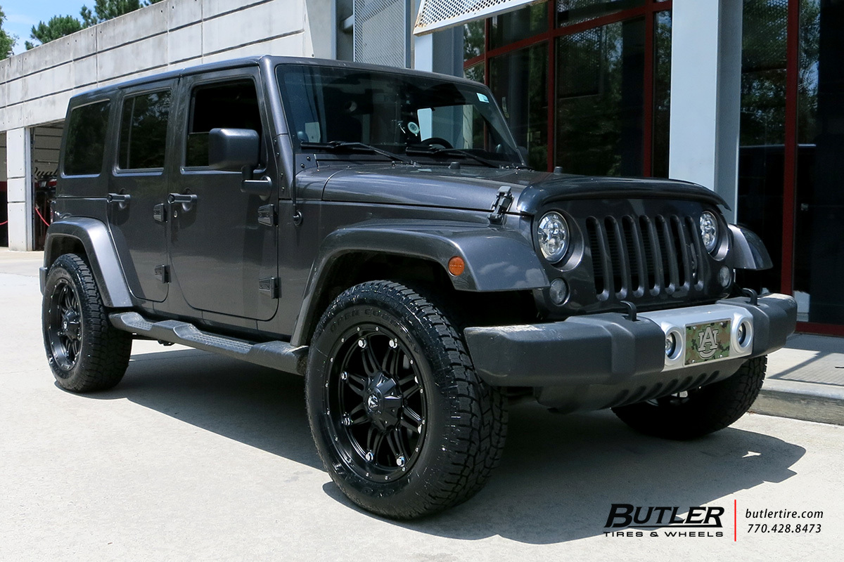 Jeep Wrangler With 20in Fuel Hostage Wheels Exclusively From Butler