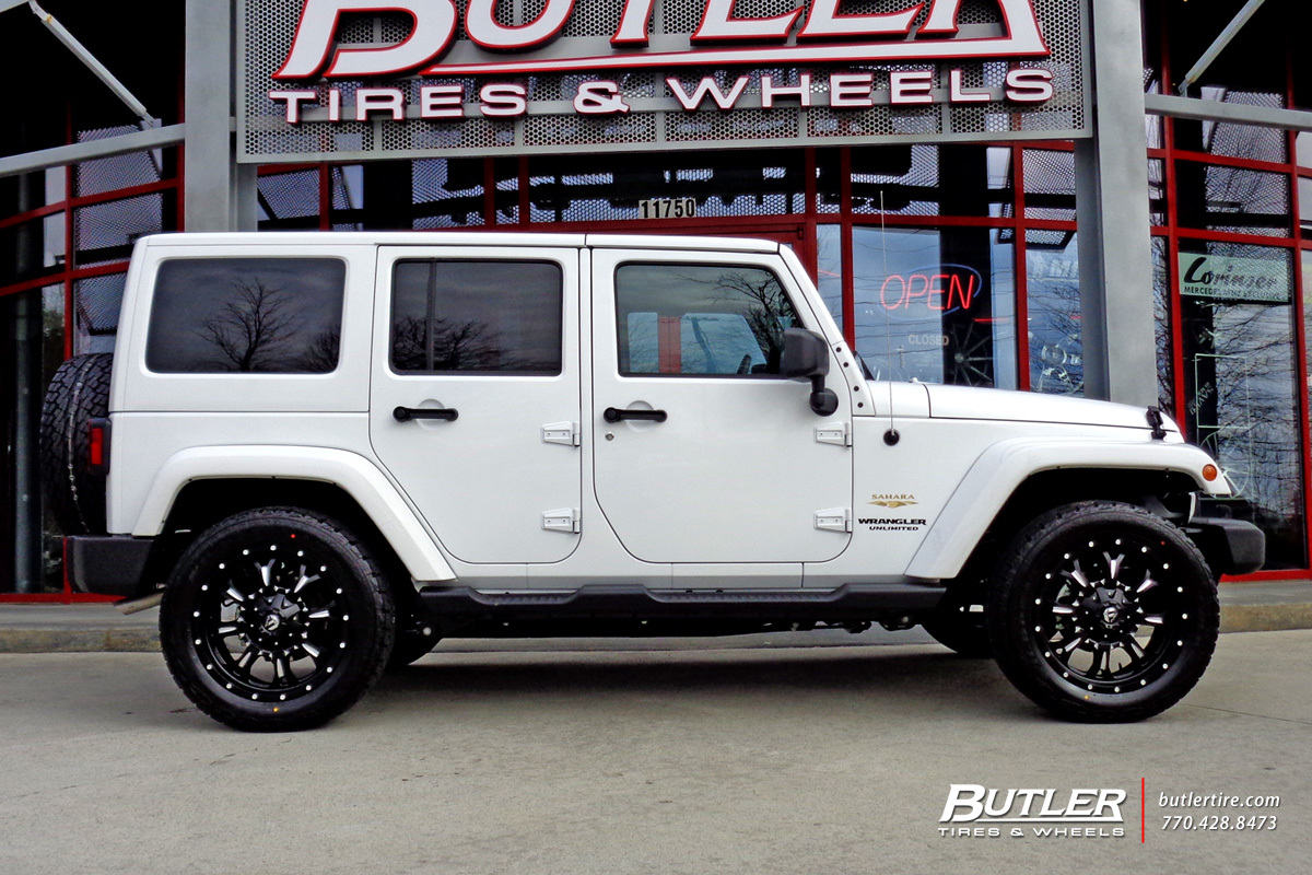 Jeep Wrangler With 20in Fuel Krank Wheels Exclusively From Butler