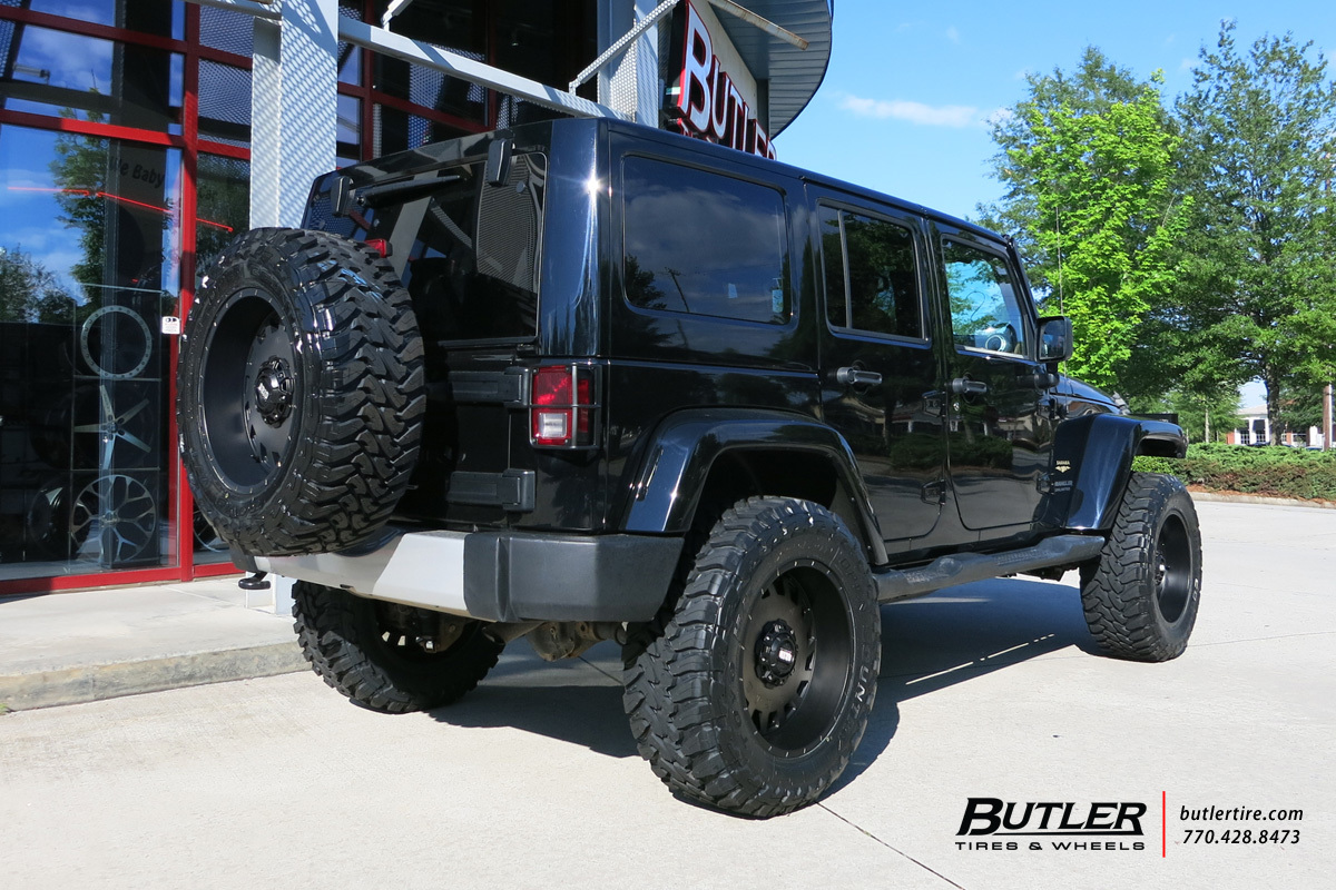Jeep Wrangler with 20in Grid GD4 Wheels