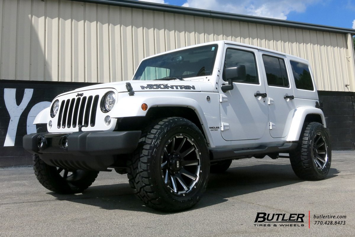Jeep Wrangler With 20in Grid Offroad GD5 Wheels