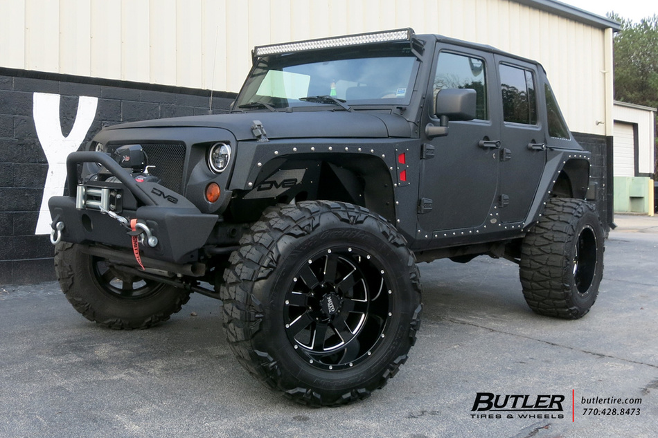 Jeep Wrangler With In Moto Metal Wheels Large