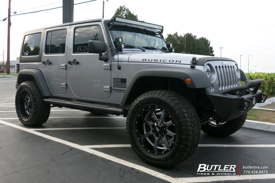 Jeep Wrangler With 20in Moto Metal 970 Wheels Exclusively