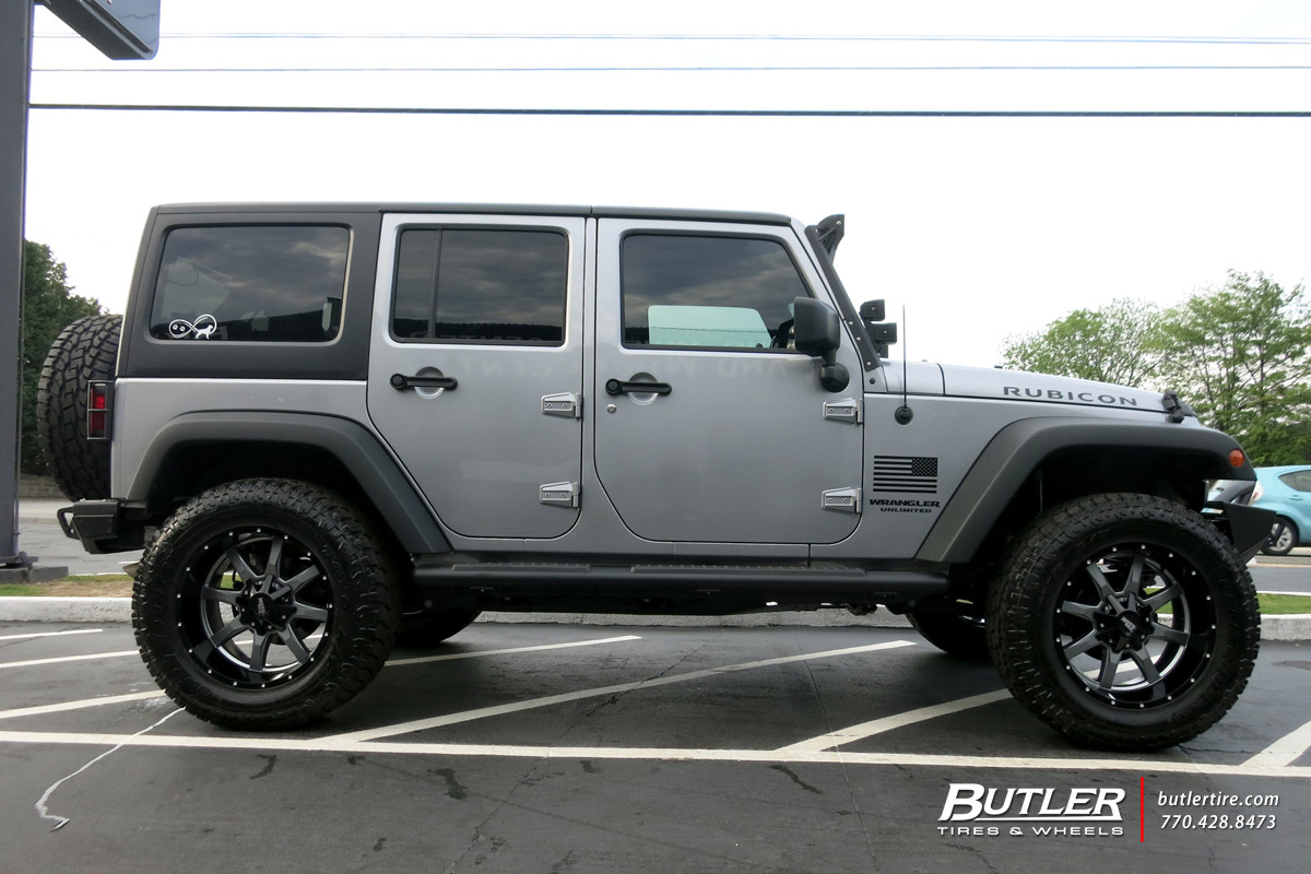 Jeep Jk Tires >> Jeep Wrangler with 20in Moto Metal 970 Wheels exclusively from Butler Tires and Wheels in ...