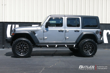 Jeep Wrangler with 20in Moto Metal MO985 Wheels
