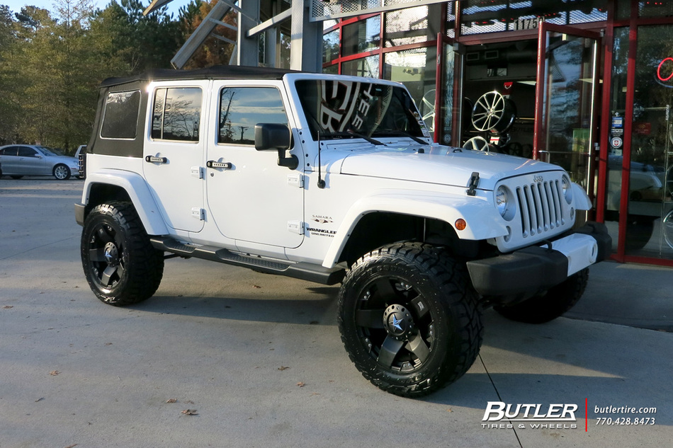 Jeep Wrangler With 20in Xd Rockstar Wheels Exclusively