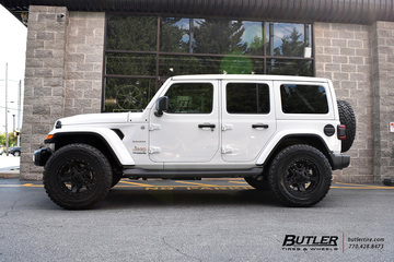 Jeep Wrangler with 20in XD Rockstar Wheels
