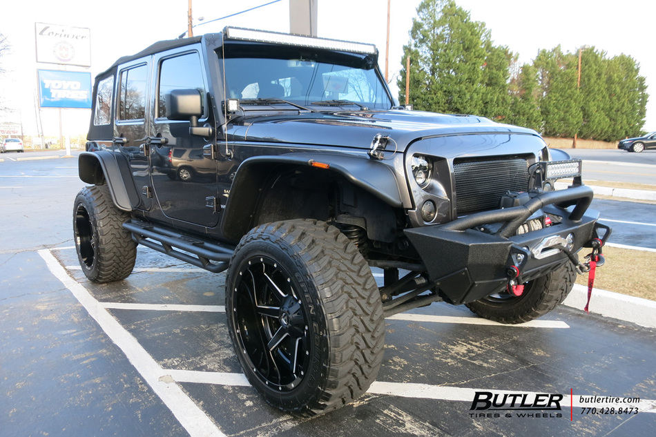 Bmw Of Atlanta >> Jeep Wrangler with 22in Fuel Maverick Wheels exclusively from Butler Tires and Wheels in Atlanta ...