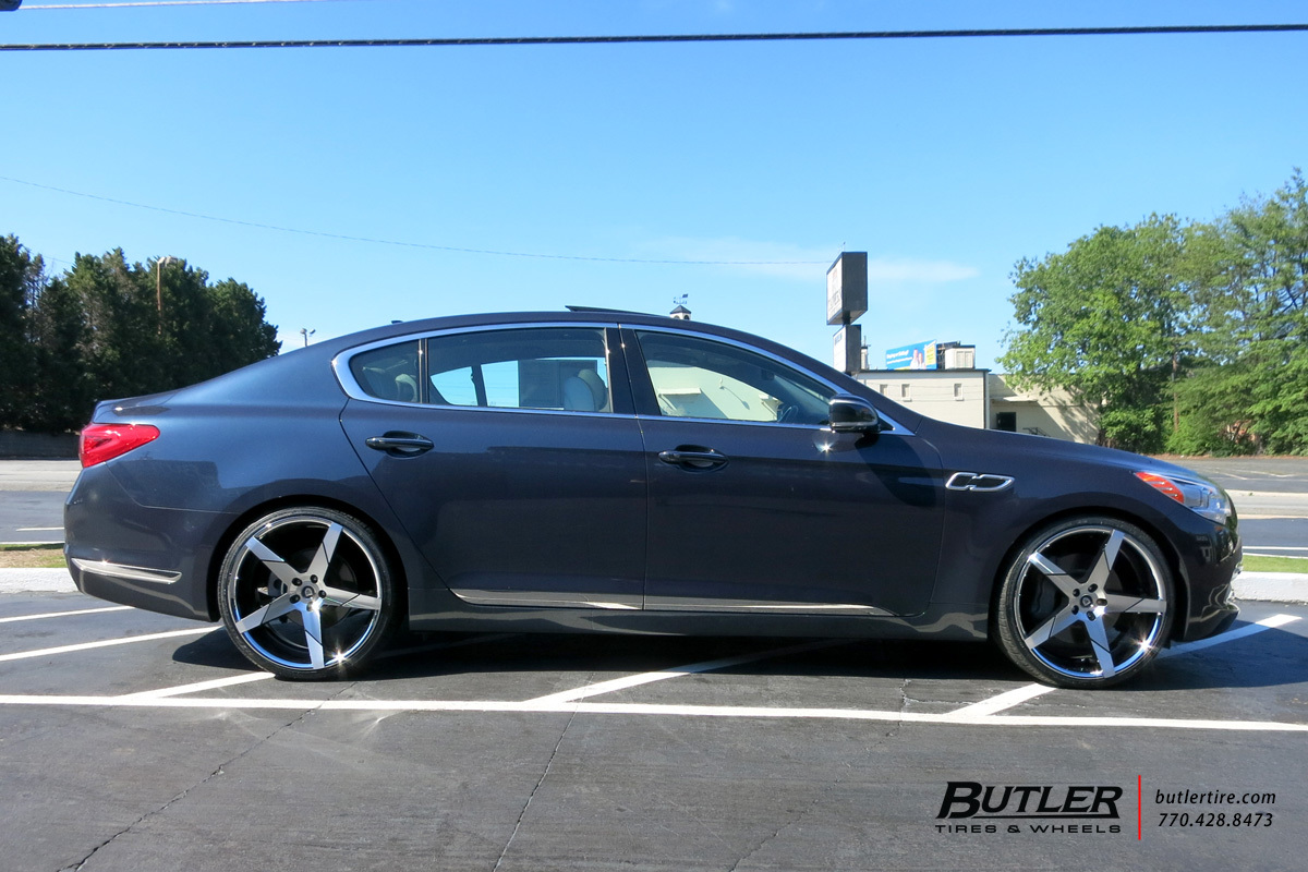 Lexus Of Atlanta >> Kia K900 with 22in Lexani Invictus Wheels exclusively from Butler Tires and Wheels in Atlanta ...