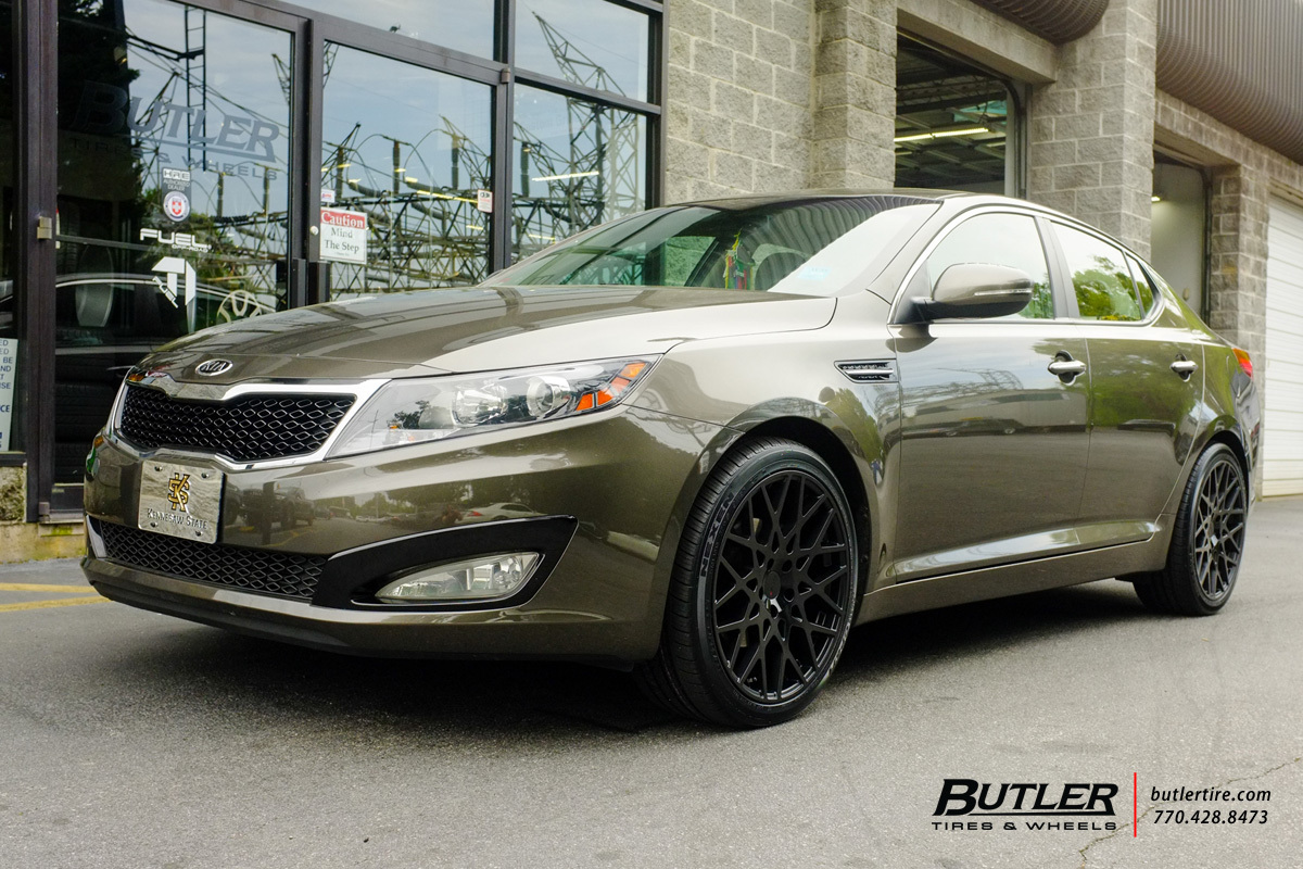 Kia Optima with 19in TSW Vale Wheels