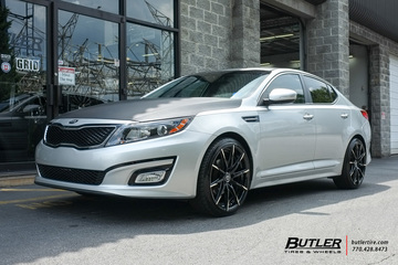 Kia Optima with 20in Lexani CSS15 Wheels