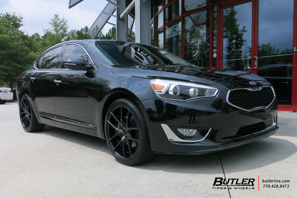 Kia Optima with 20in Niche Targa Wheels exclusively from Butler Tires and Wheels in Atlanta, GA ...
