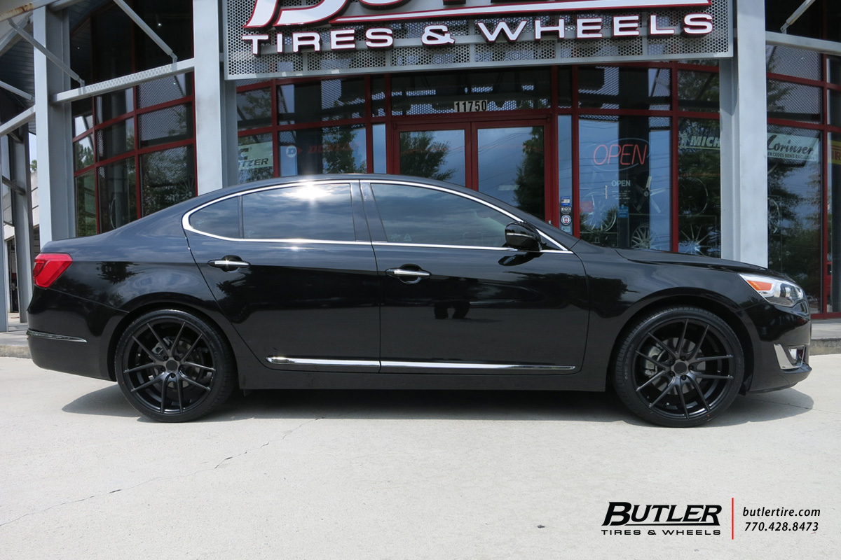 Kia Optima with 20in Niche Targa Wheels