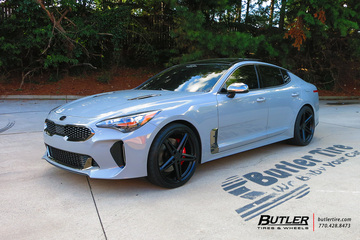 Kia Stinger with 20in TSW Molteno Wheels