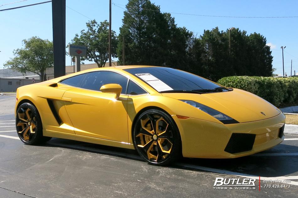 Audi Of Atlanta >> Lamborghini Gallardo with 20in Forgiato F2 09 Wheels ...