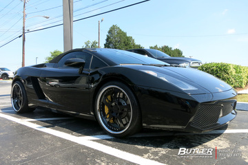 Lamborghini Gallardo with 20in GFG Nardo Wheels