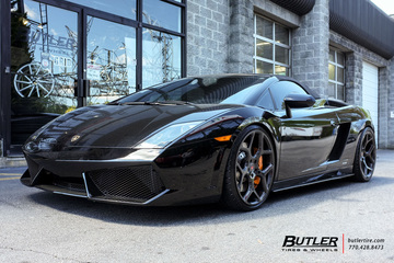 Lamborghini Gallardo with 20in Vossen CG-205 Wheels