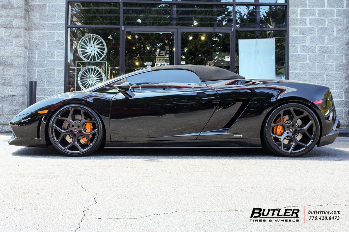 Lamborghini Gallardo With 20in Vossen Cg 205 Wheels