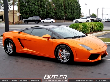 Lamborghini Gallardo Bicolore with 19in Savini SV23 Wheels