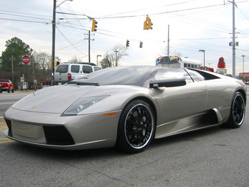 Lamborghini Murcielago with 19in Maya DTV Wheels