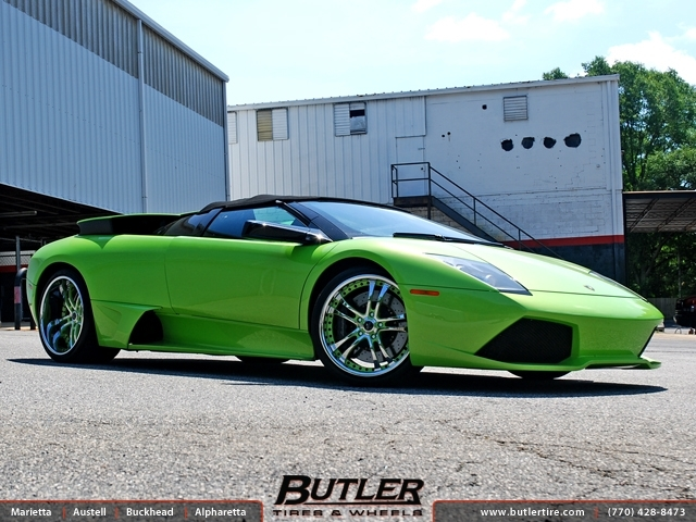 Lamborghini Murcielago with 20in Savini SV21 Wheels