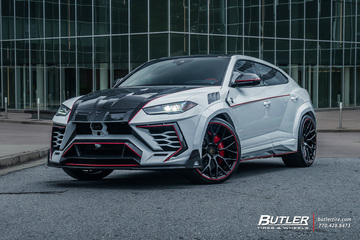 Lamborghini Urus with 24in AG Luxury AGL57 Wheels
