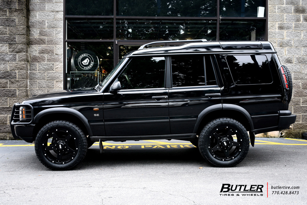 Land Rover Discovery With 20in Grid Offroad Gd4 Wheels