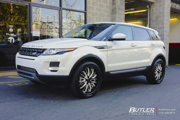 Land Rover Evoque with 20in Savini BS5 Wheels