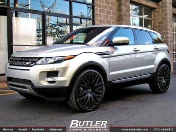 Land Rover Evoque with 22in Marinello Kensington Wheels