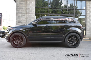 Land Rover Evoque with 22in Savini SV-F2 Wheels
