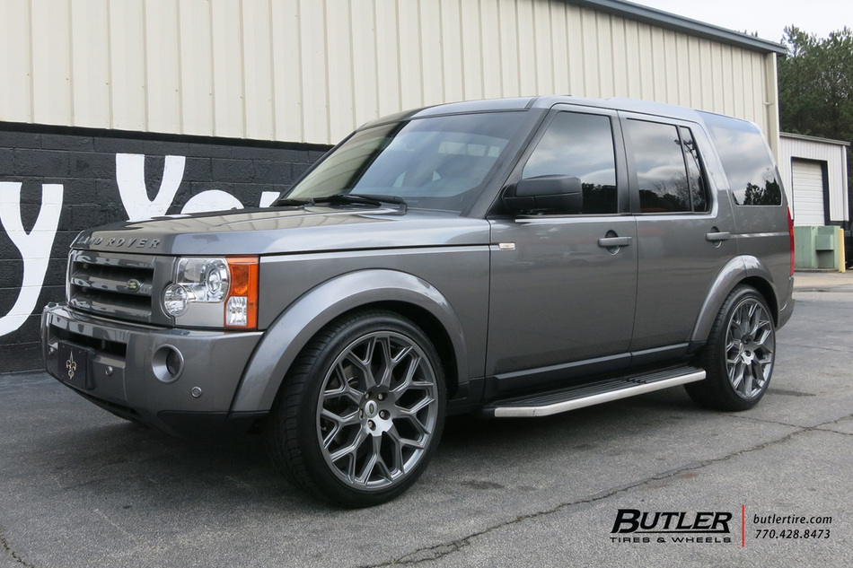Land Rover Lr3 With 22in Redbourne King Wheels Exclusively