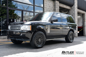 Land Rover Range Rover with 18in Black Rhino Arsenal Wheels