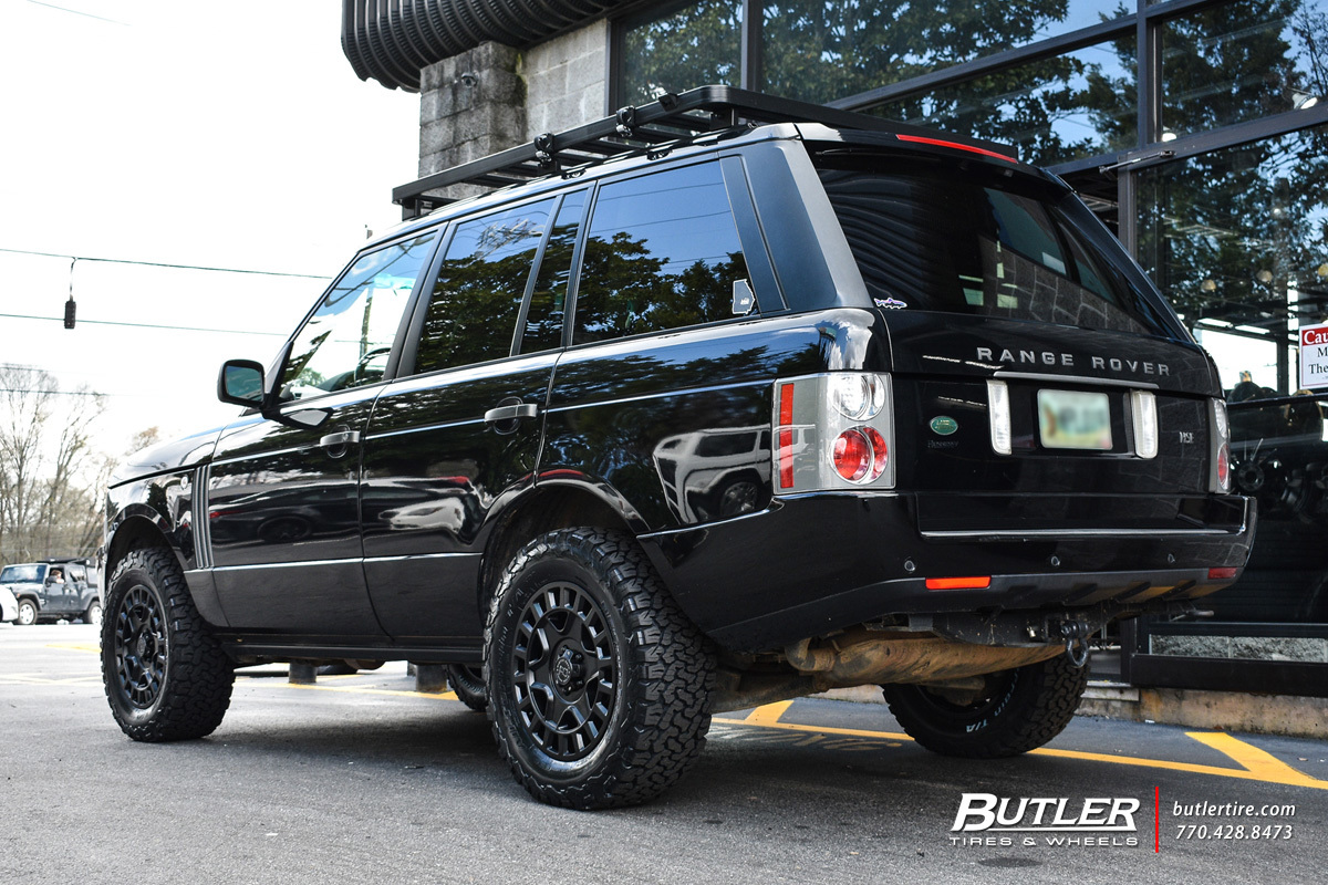Land Rover Range Rover with 18in Black Rhino York Wheels exclusively