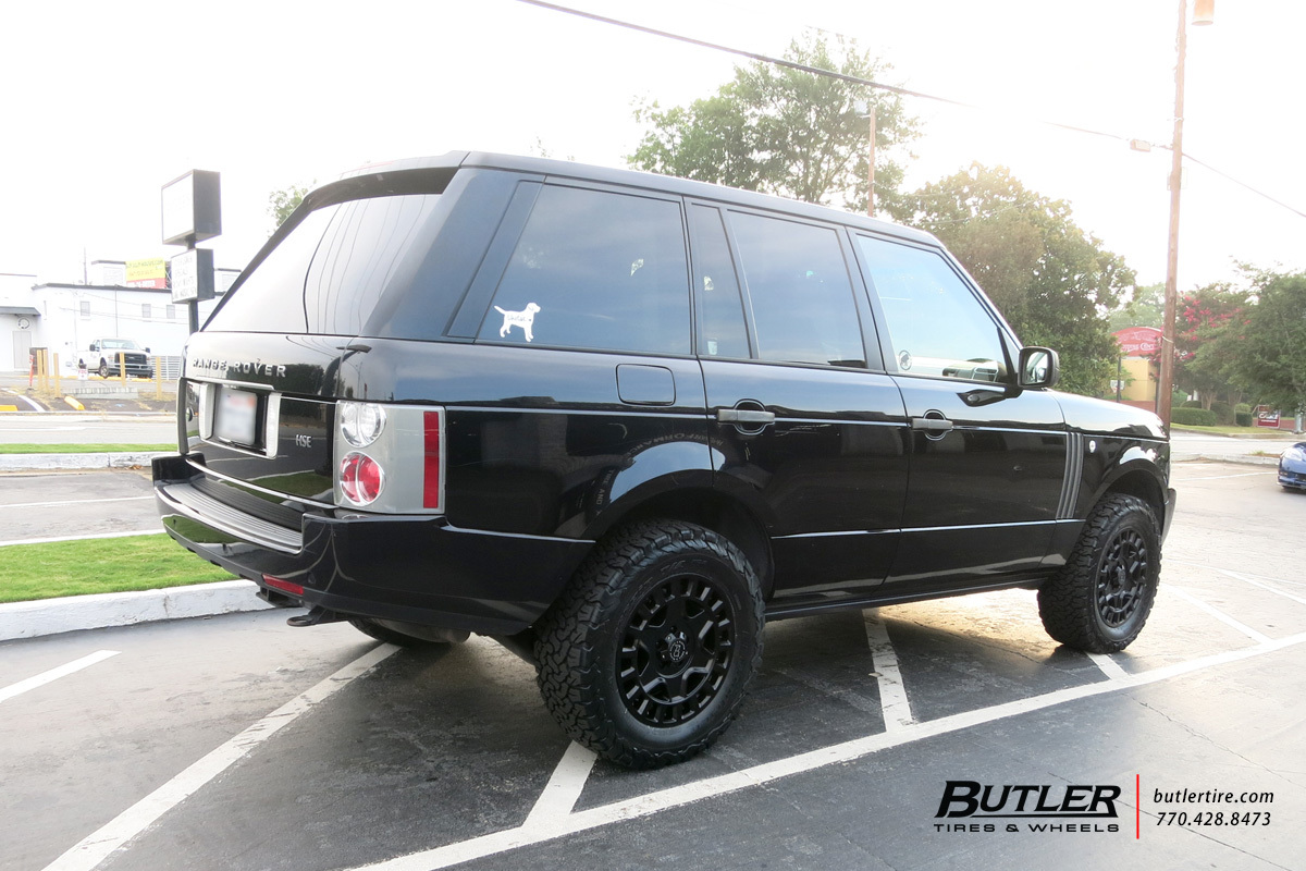 Land Rover Range Rover with 18in Black Rhino York Wheels