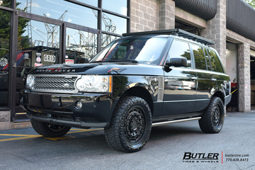 Land Rover Range Rover with 20in Black Rhino Arsenal Wheels